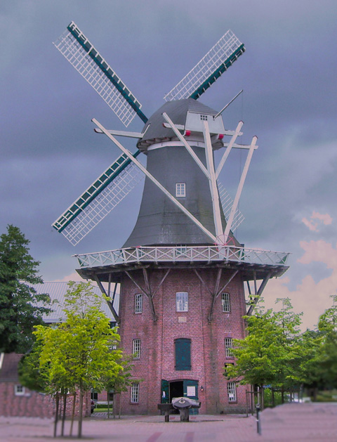 Papenburg Mühle Windmühle Meyers