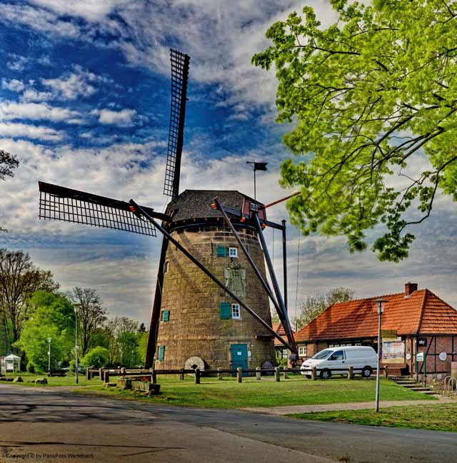 www.pano-createur.de - NI145 Windmühle Ostmühle in Bad ...