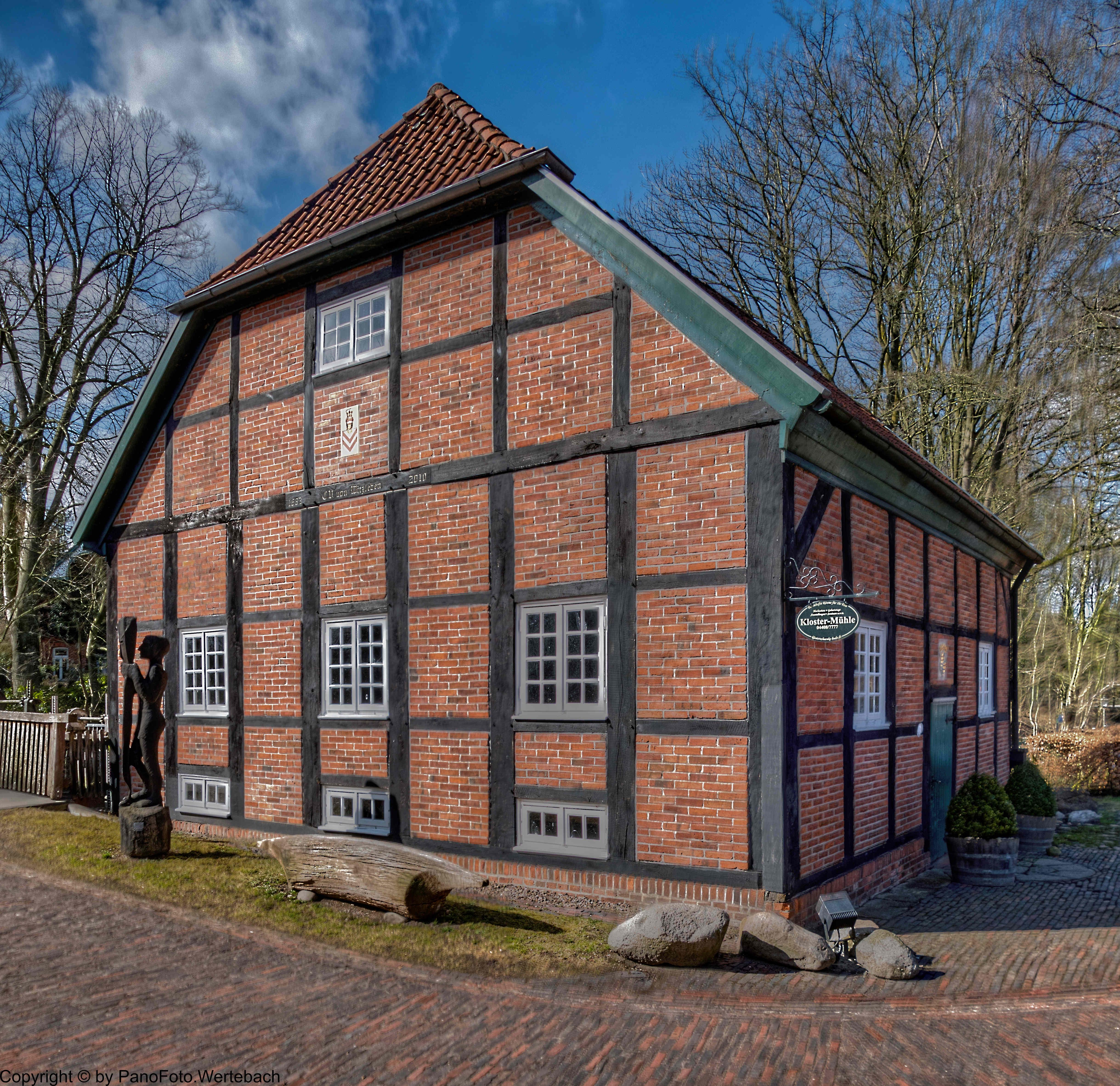 www.pano-createur.de - NI097 Klostermühle in Hude
